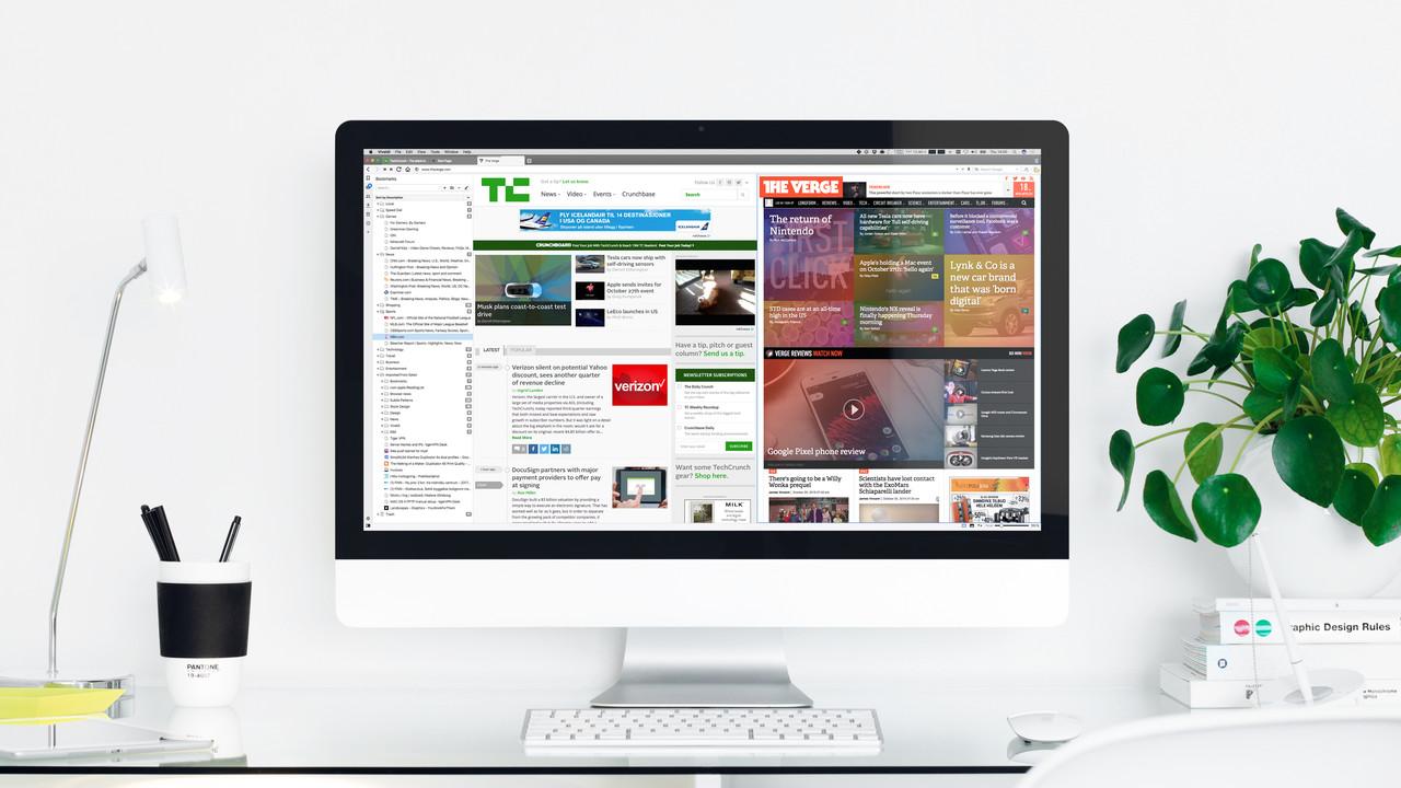 """Vivaldi 1.10: Browser lässt Anwender die """"Startseite"""" anpassen"""