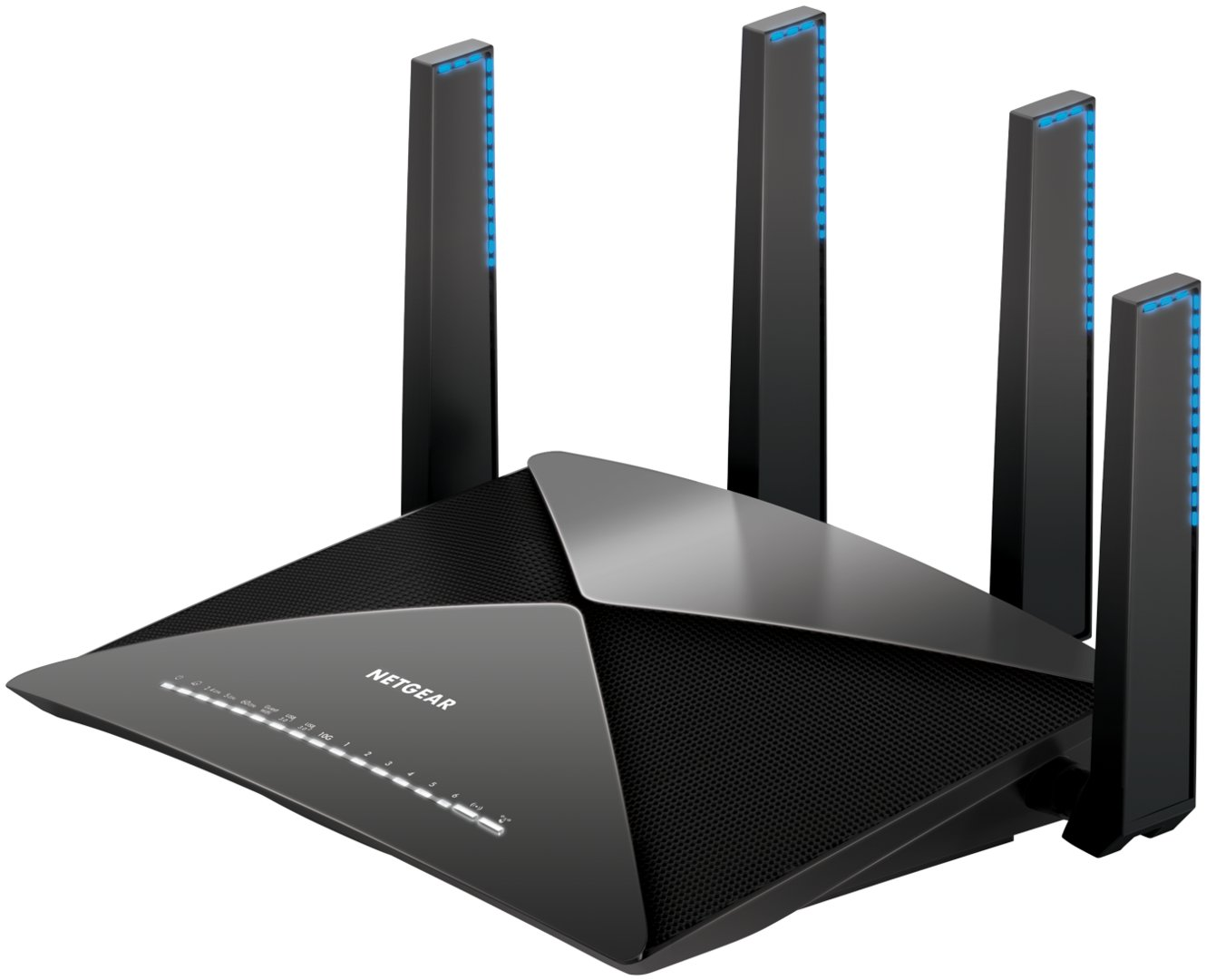 nighthawk x10 netgears wlan ad router mit 10 gbit s. Black Bedroom Furniture Sets. Home Design Ideas