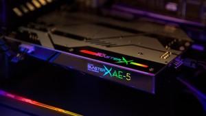Creative Sound BlasterX AE-5: Jetzt erstrahlen auch Soundkarten in RGB-Farben