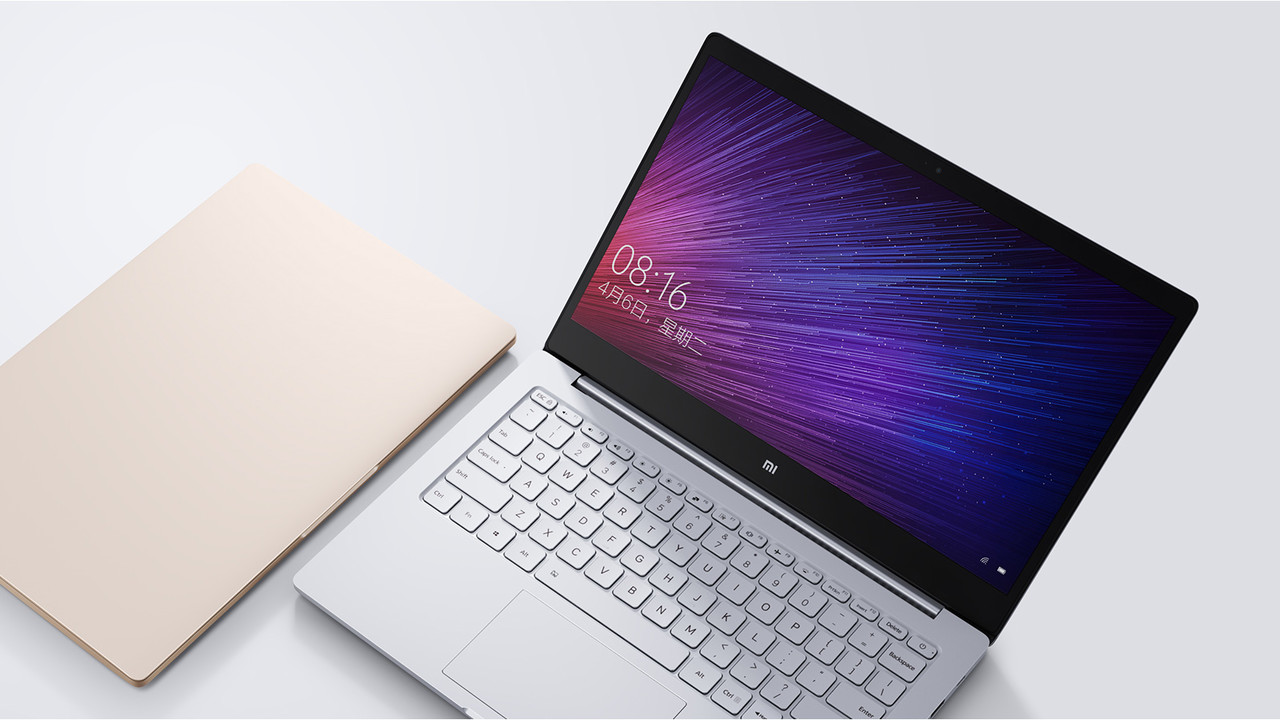 Xiaomi Mi Notebook Air: Kaby Lake und Pascal als Fingerprint-Edition