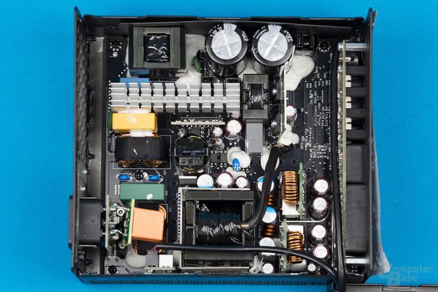 Aerocool P7-650W – Überblick Elektronik