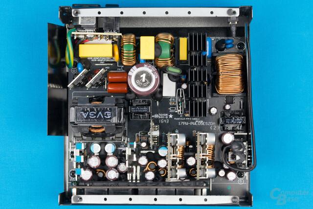 EVGA Supernova G3 550W – Überblick Elektronik