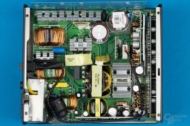 Sea Sonic Prime Gold 650W – Überblick Elektronik