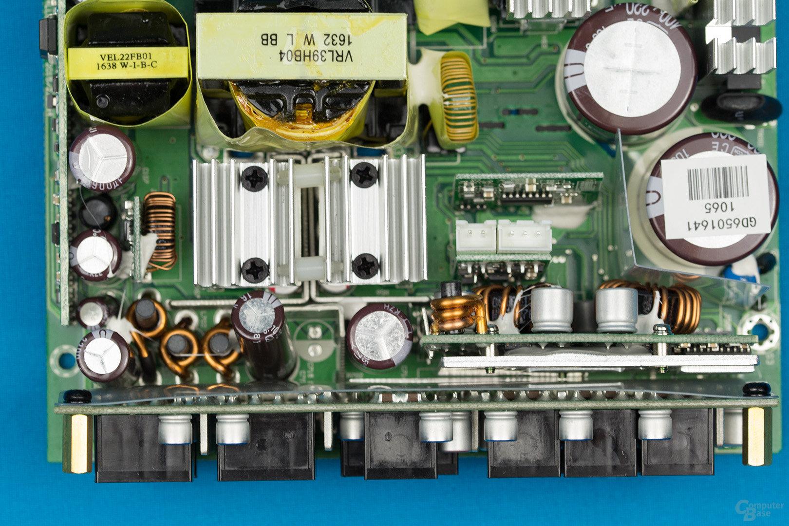 Sea Sonic Prime Gold 650W – Sekundärseite