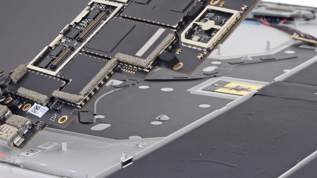 Null Punkte: Surface Laptop lässt sich nicht reparieren
