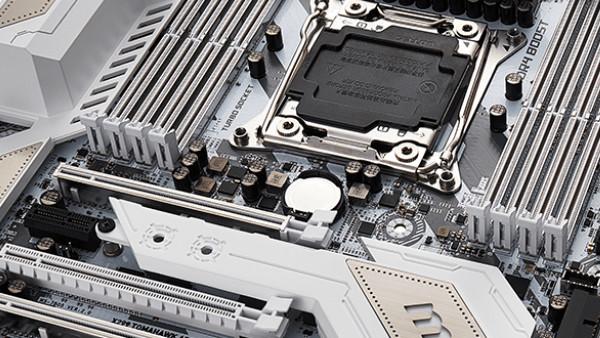 MSI X299 Tomahawk Arctic: Mainboard in Weiß und Grau für Intels-Core-X-CPUs