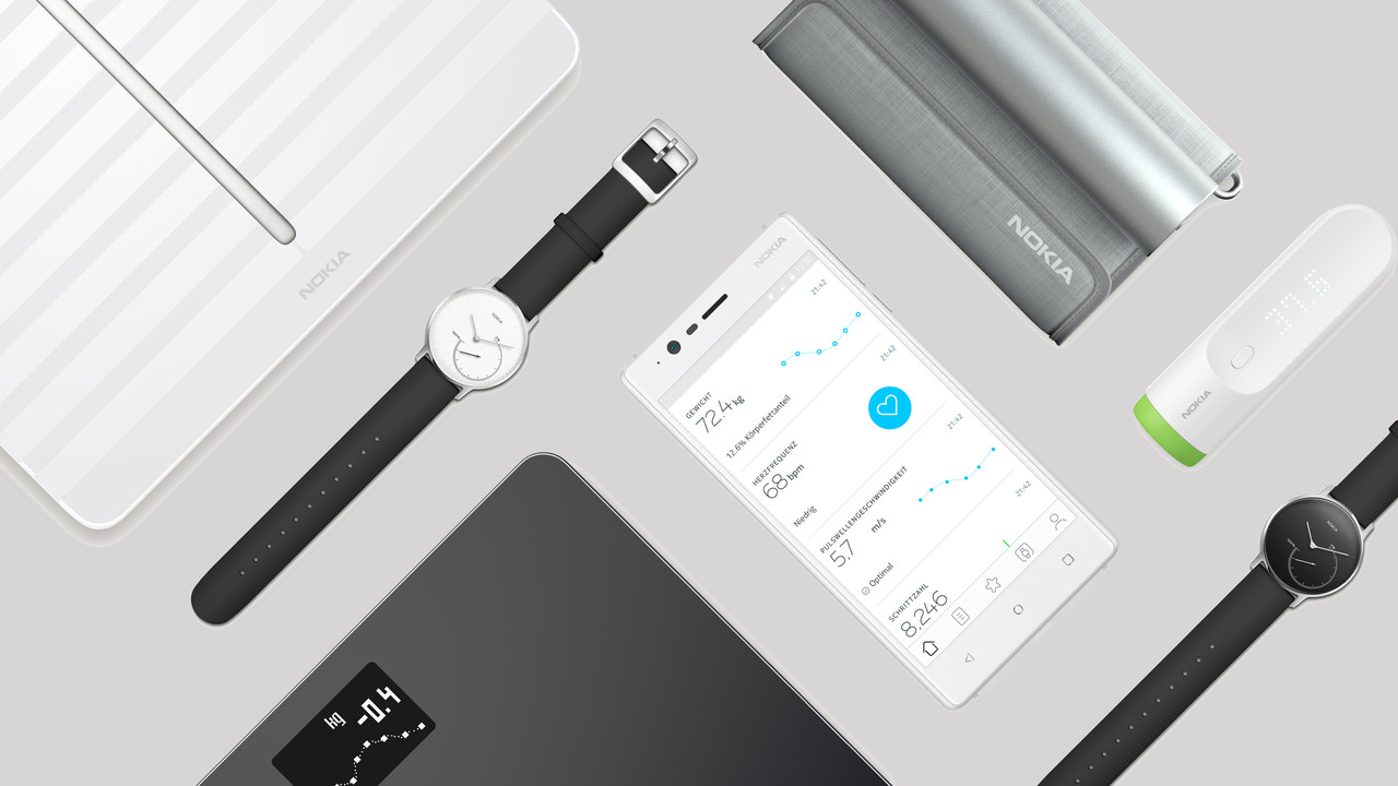 Nokia Health: Smarte Blutdruckmanschette und Körperwaage