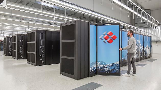 Supercomputer: Nach Upgrade ist Piz Daint die neue Nummer 3 der Welt