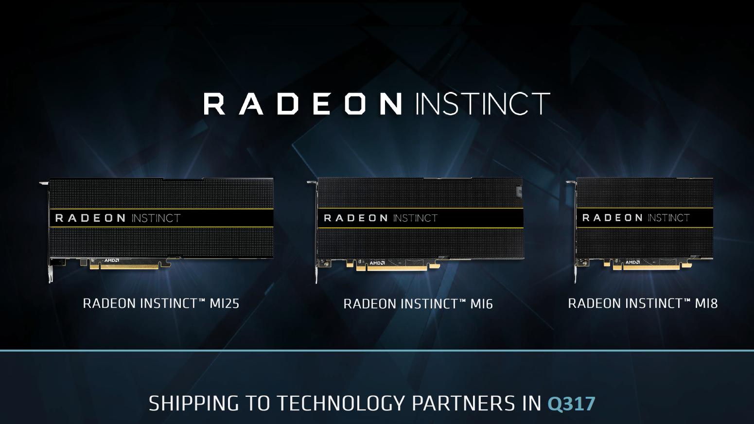 AMD Radeon Instinct offiziell vorgestellt
