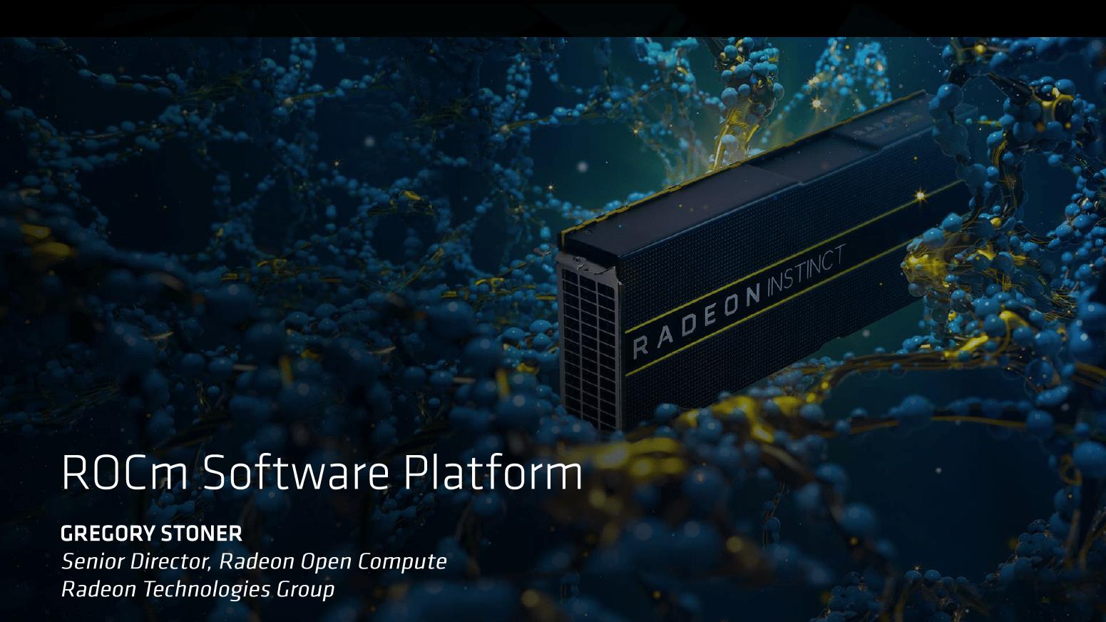 Die ROCm-Softwareplattform
