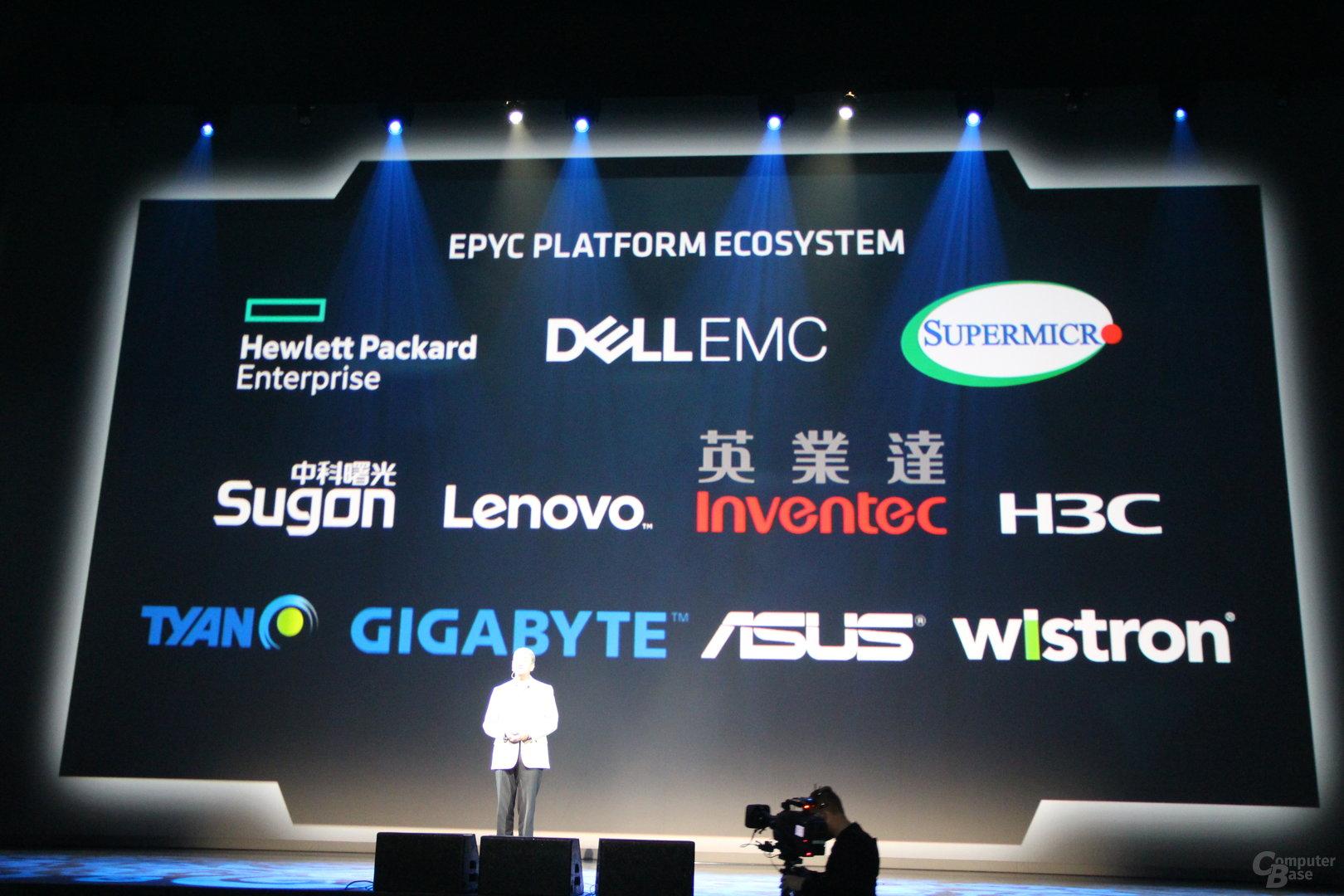 AMD-Partner für Epyc