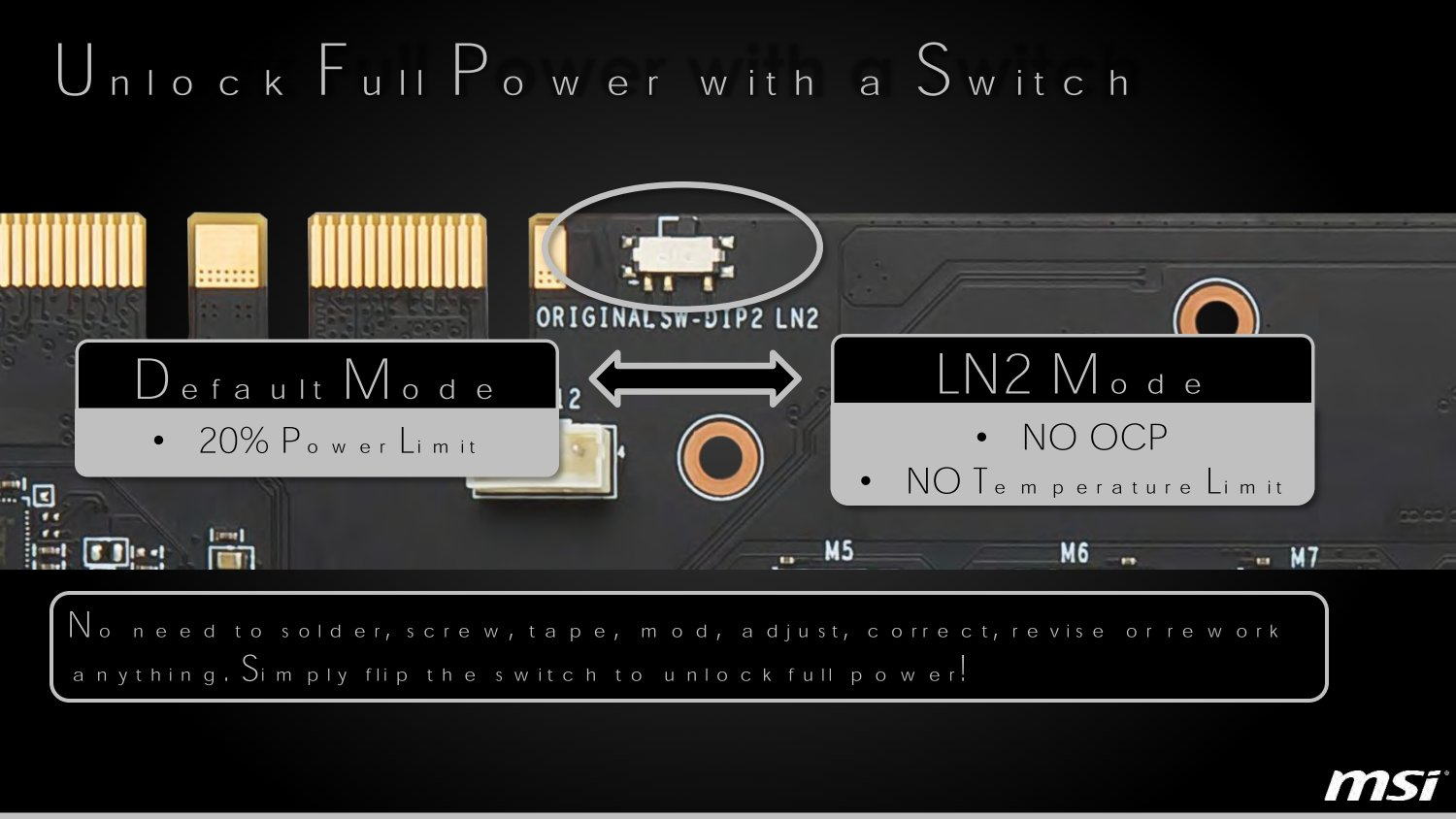 LN2 Mode per Switch