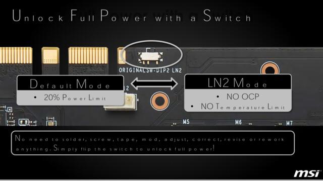 LN2 Mode per Switch