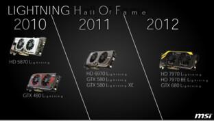 MSI Lightning von 2010 bis 2012