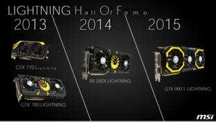 MSI Lightning von 2013 bis 2015