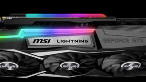 MSI GTX 1080 Ti Lightning Z: OC-Bolide mit LN2-Switch protzt bei Kühler und Strom