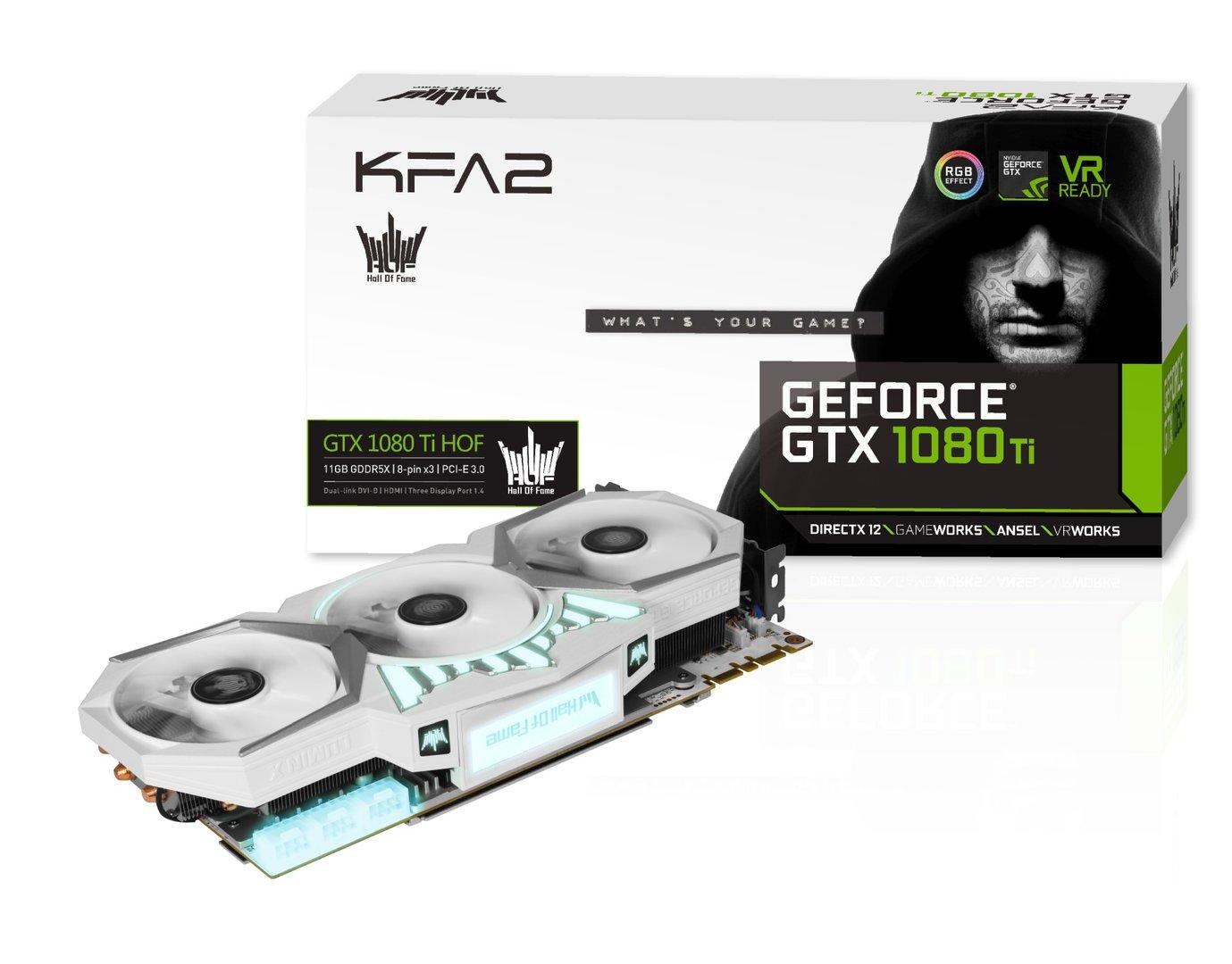 KFA2 GTX 1080 Ti Hall Of Fame