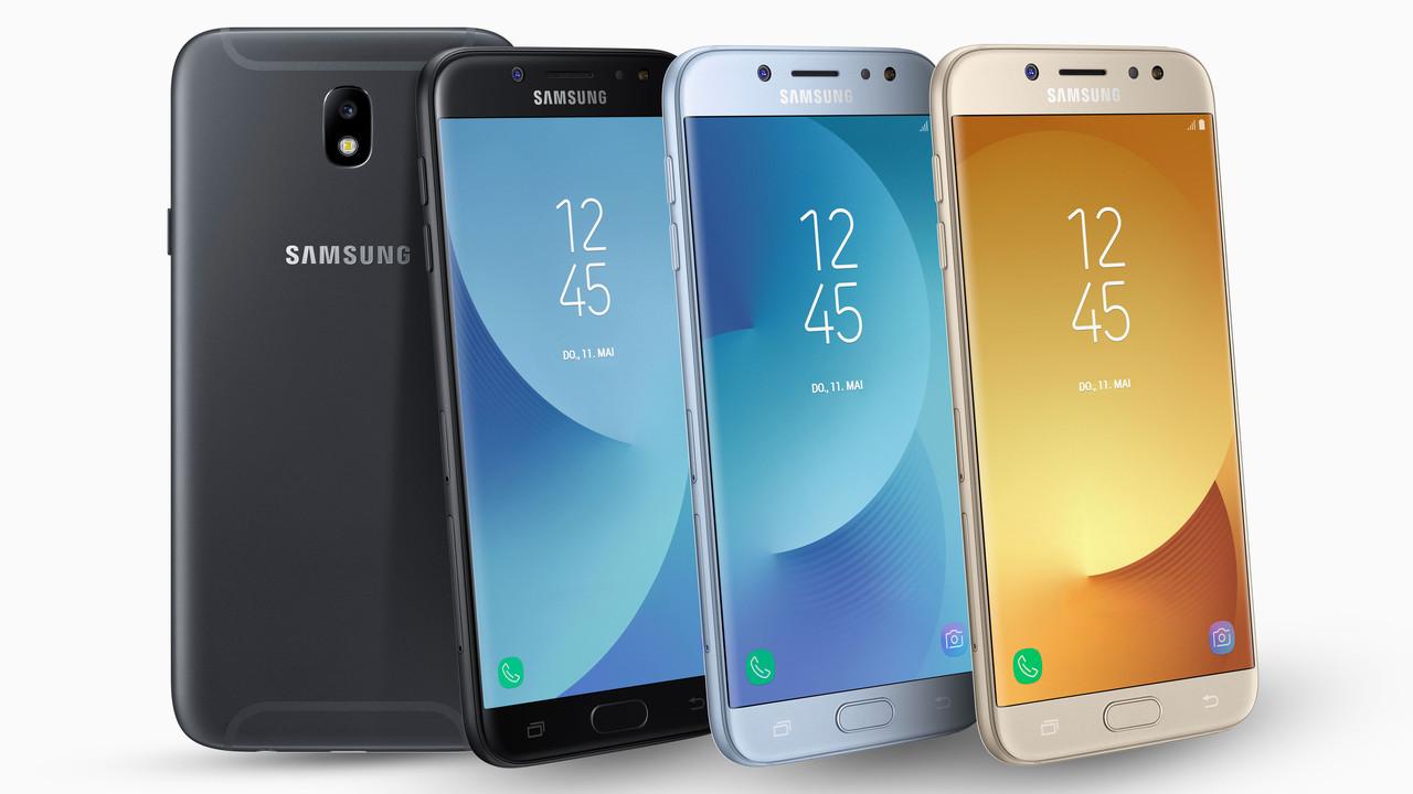 Galaxy J (2017): Samsungs neue Einsteiger kosten 220 bis 340 Euro