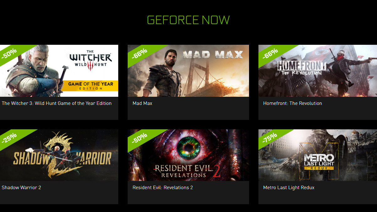 "Nvidia Shield: Sieben GeForce-Now-Spiele im ""Summer Game Sale"""