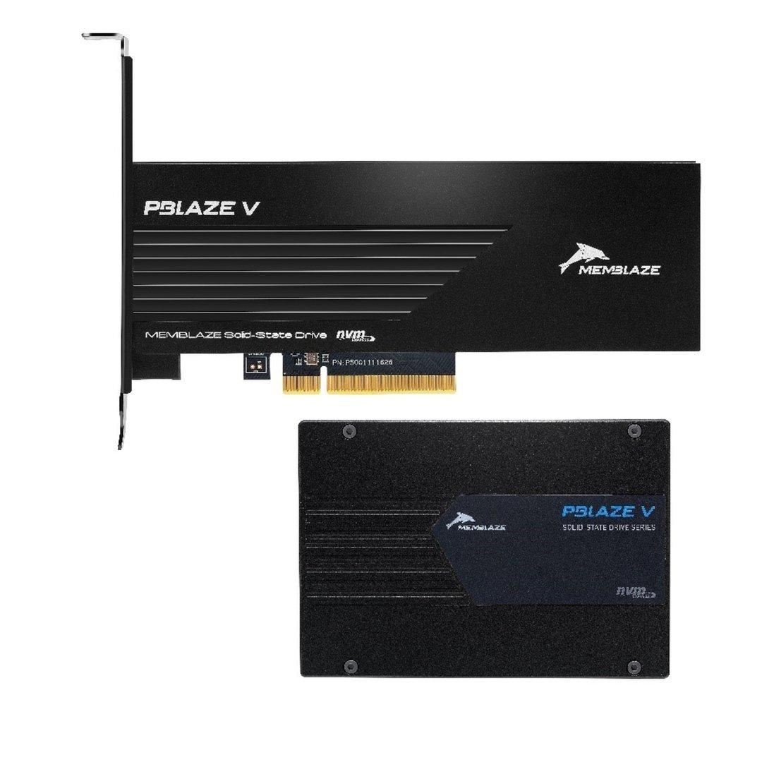 PBlaze5 als PCIe-Karte und 2,5-Zoll-Version mit U.2