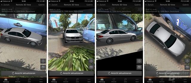Die Bildqualität von Remote 3D View ist stark verbesserungsfähig