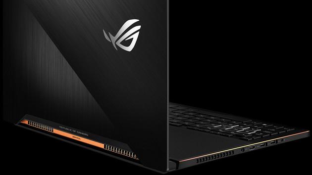 Asus ROG Zephyrus (GX501): Dünnes GeForce-GTX-1080-Notebook kostet 2.999 Euro