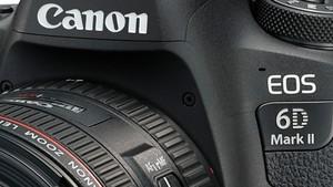 Canon EOS 6D Mark II & 200D: Digic 7 für die Vollformat- und die APS-C-Selfie-Kamera
