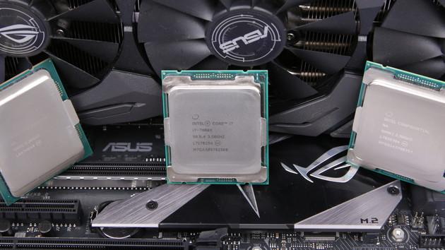 Core i7-7800X & i9-7900X im Test: In Spielen langsamer als die beiden Vorgänger
