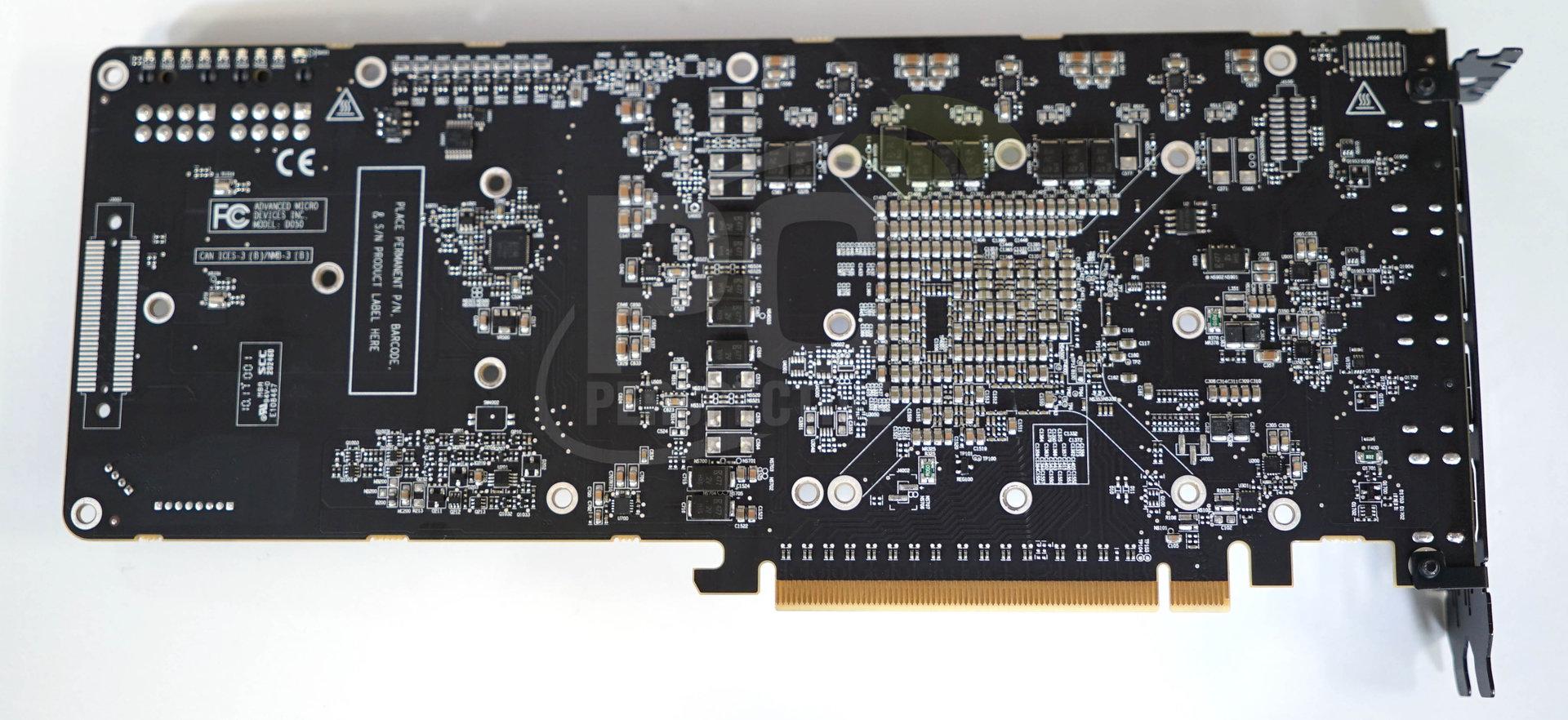 Die Platine der Radeon Vega Frontier Edition