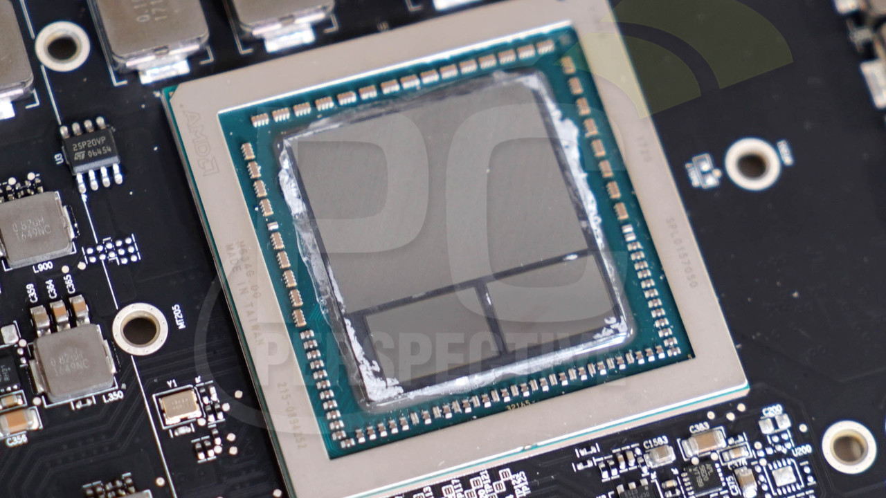 Radeon Vega Frontier Edition: Platine mit 484 mm² großer Vega-10-GPU enthüllt
