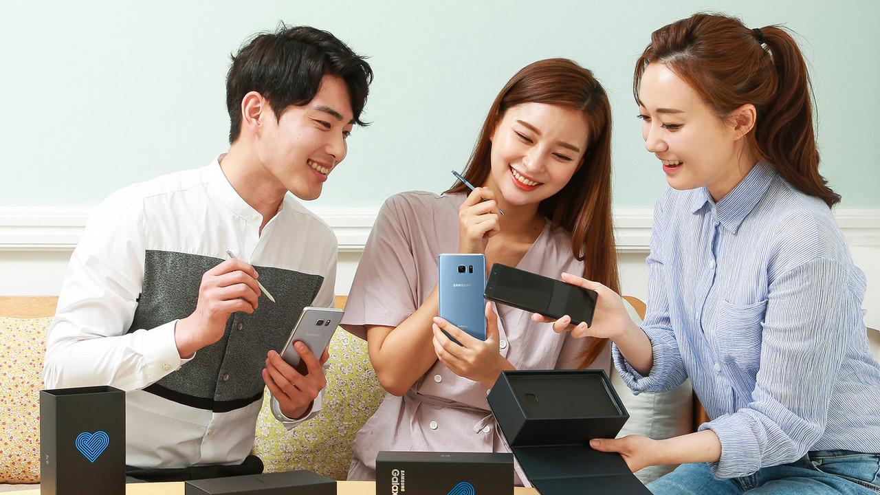 Galaxy Note Fan Edition: Samsung bringt das Galaxy Note 7 wieder in den Handel