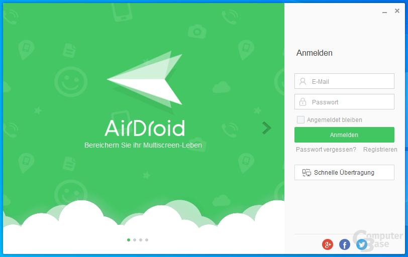 AirDroid - Login