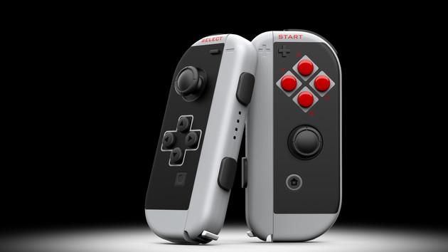 Joy Con Classic: Controller für Nintendo Switch im NES-Design