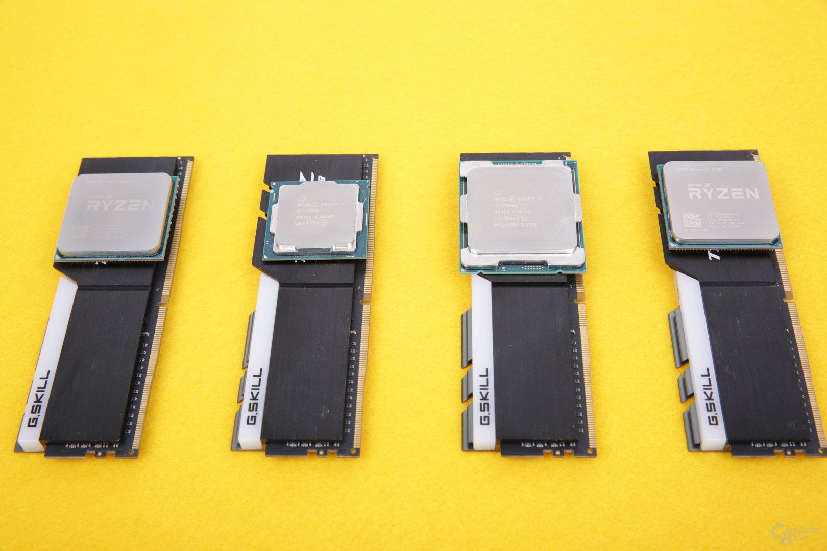 AMD Ryzen und Core i mit mehr Performance durch DDR4-3200