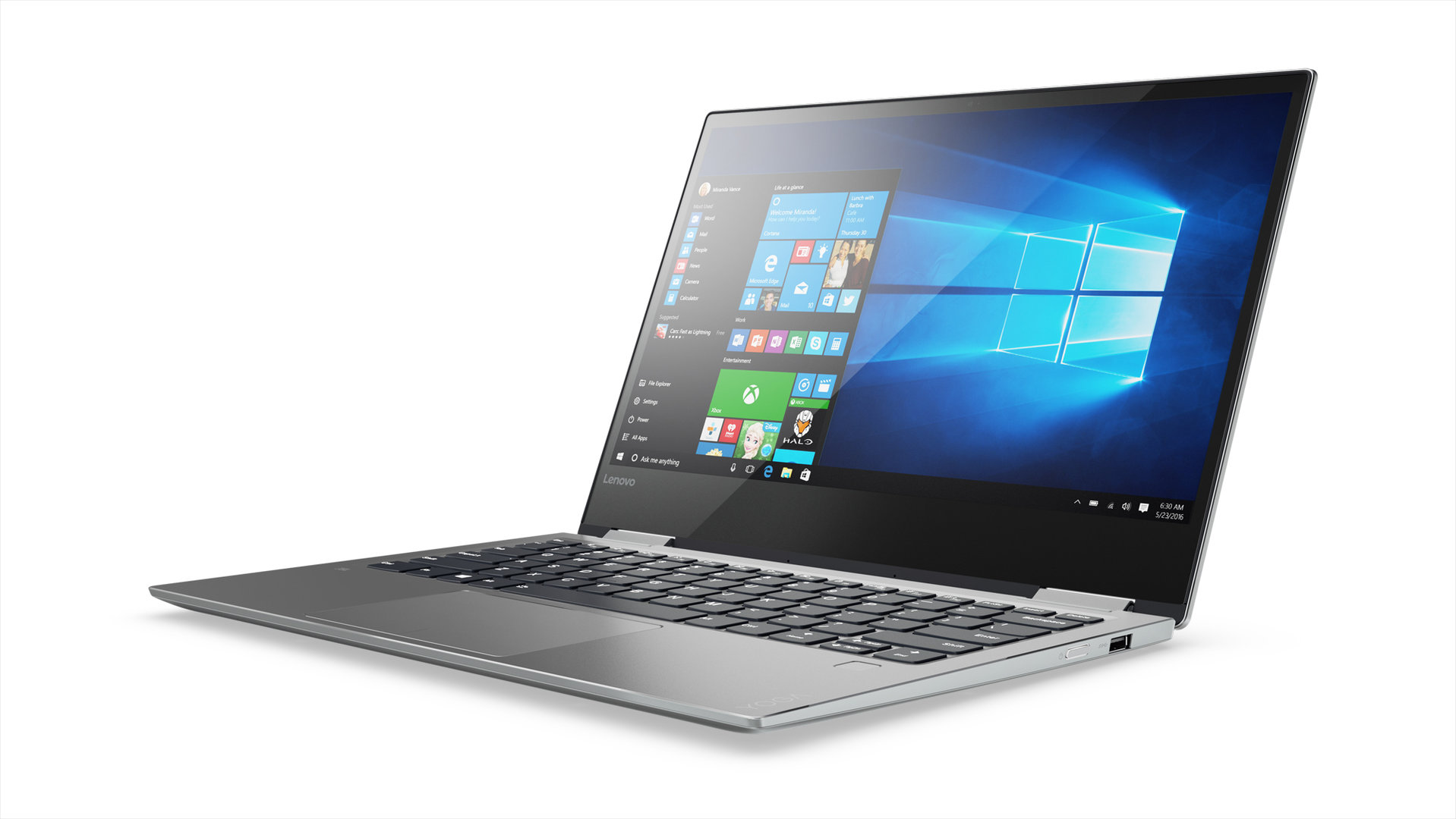 Lenovo Yoga 720 13-Zoll in Platinum Silber