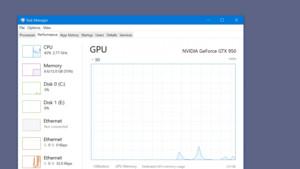 Windows 10 Build 16237: Optimierung der GPU-Anzeige im Taskmanager