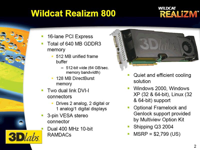 Wildcat Realizm 800