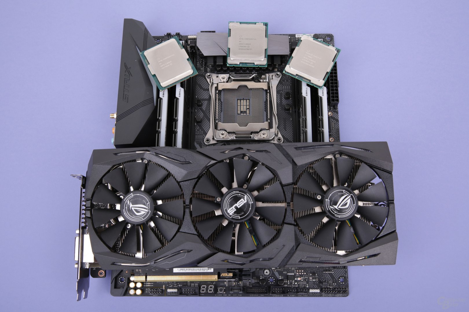 Testsysteme mit schneller GeForce GTX 1080 Ti