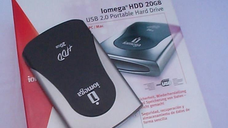 Im Test vor 15 Jahren: Externe HDD mit 20 GB und 16 MB/s für 249 Euro