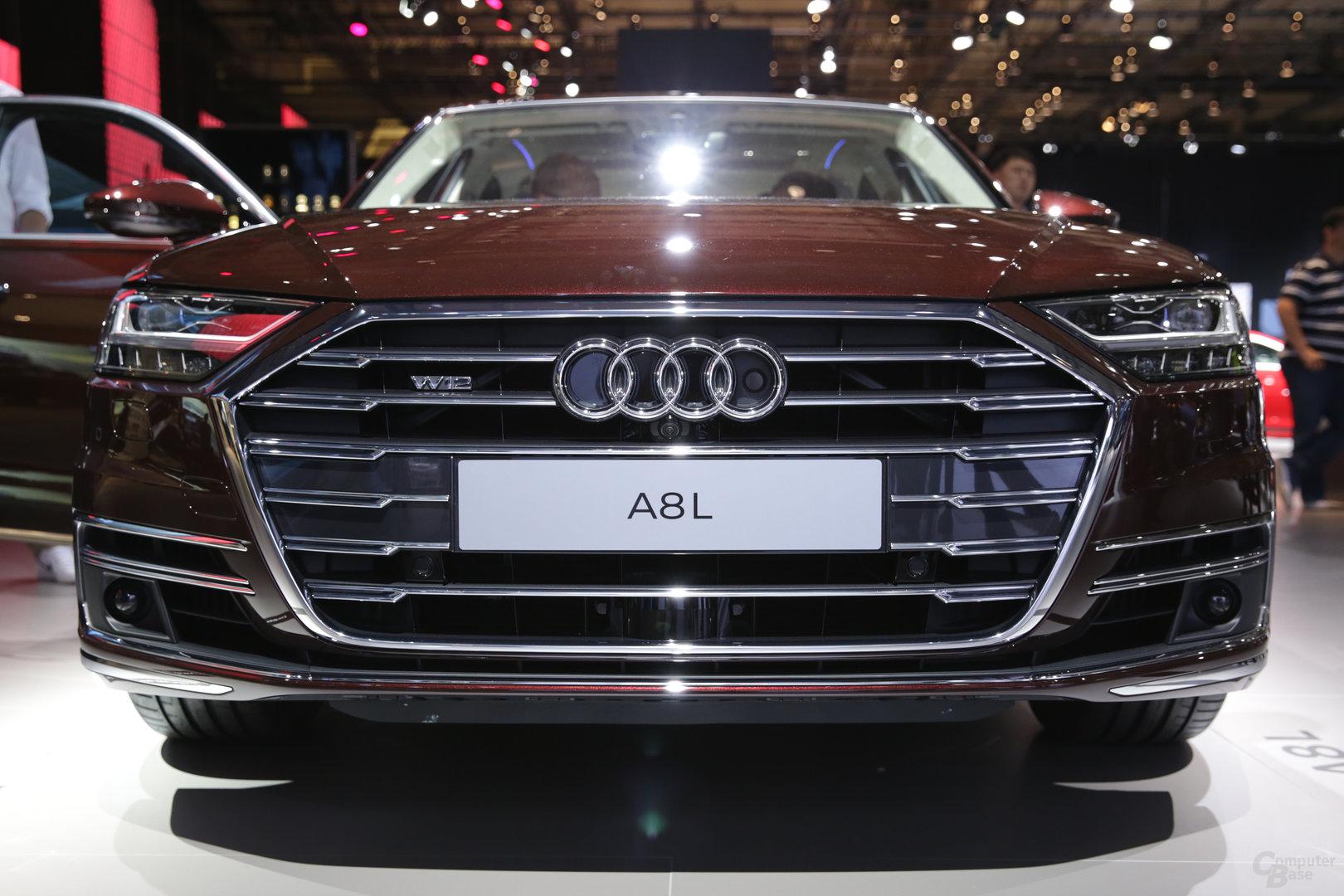 Audi A8: Front voller Sensorik