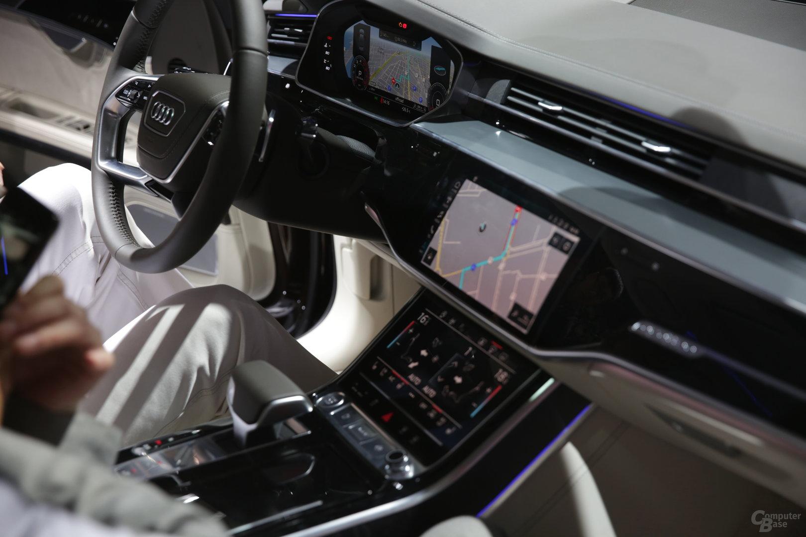 Innenraum des Audi A8