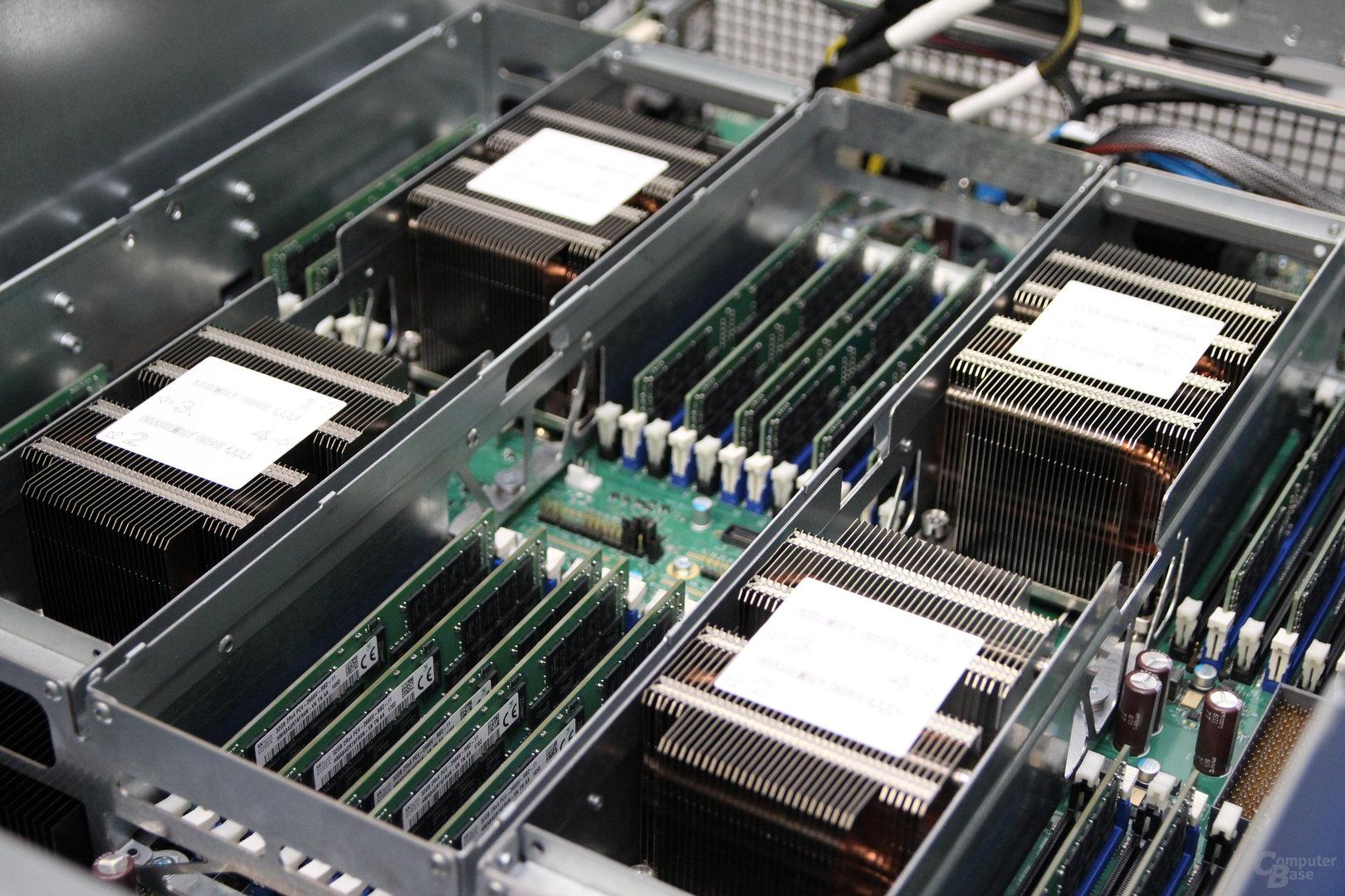 Intel Xeon SP im Vier-Sockel-System