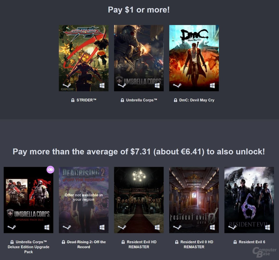 Das Humble Capcom Rising Bundle lohnt sich dank DmC und Resident Evil