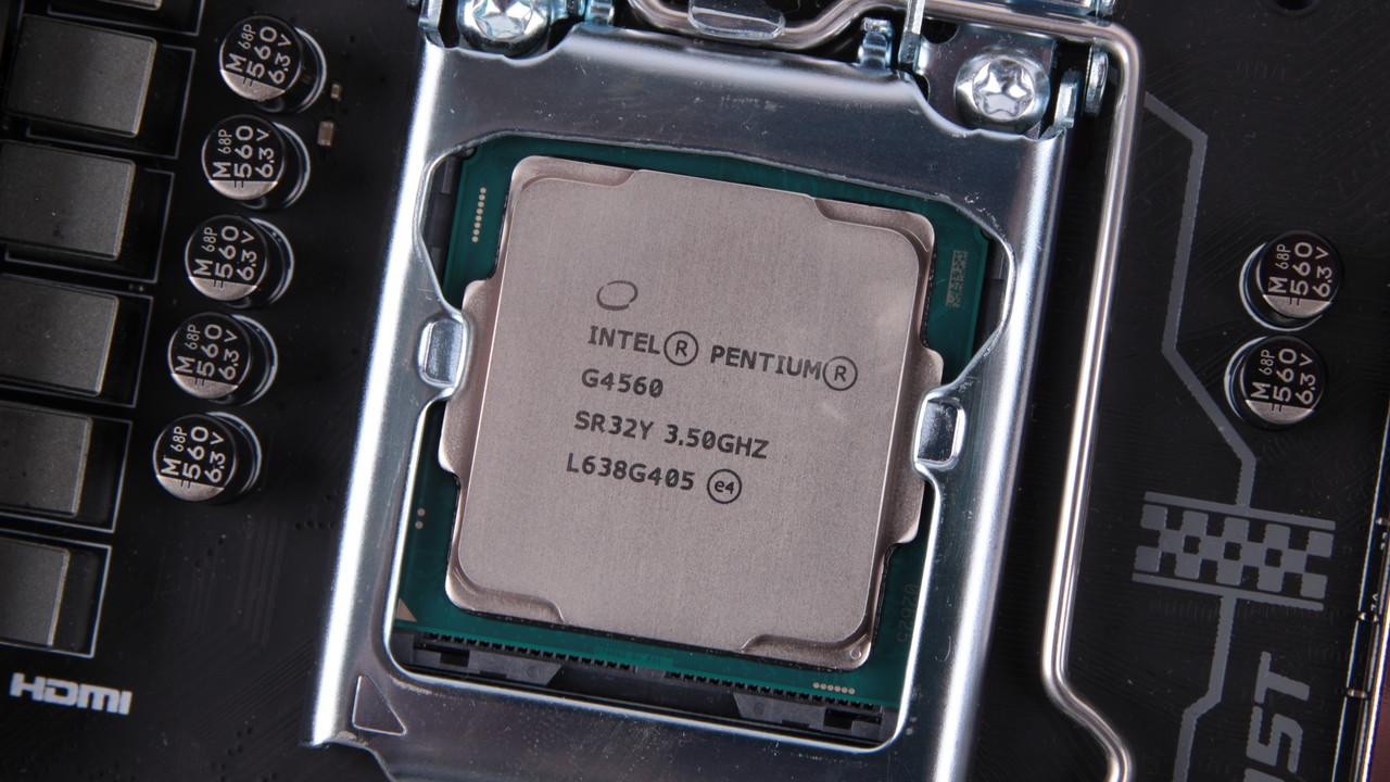 Stellungnahme: Der Intel Pentium G4560 wird weiter bestehen