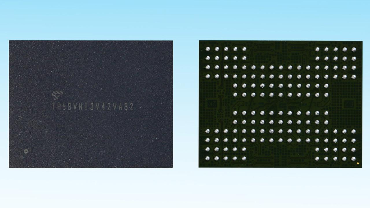 BiCS Flash with TSV: Durchkontaktierter 3D‑NAND als Prototyp verfügbar