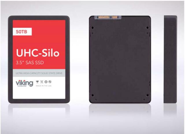 Fast 50 Terabyte im 3,5-Zoll-Format: Viking UHC-Silo SSD