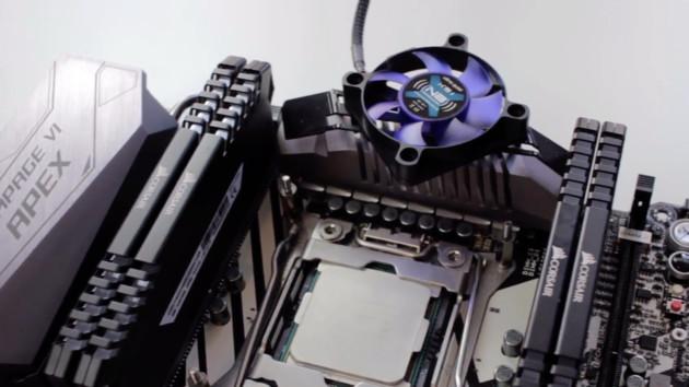 Asus Rampage VI Apex: X299-Mainboard erhält optimierten VRM-Kühler