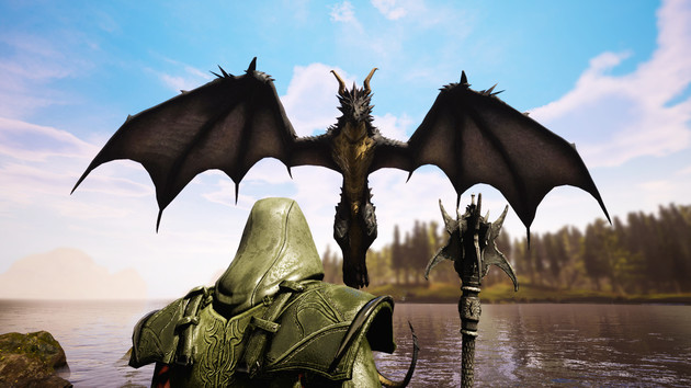 Citadel: Forged With Fire: Open-World-MMORPG erinnert an Skyrim und Harry Potter