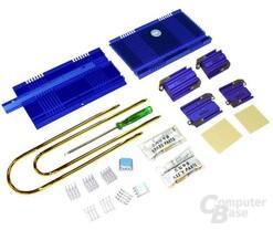 Lieferumfang der neuen Zalman Heatpipe ZM80D-HP