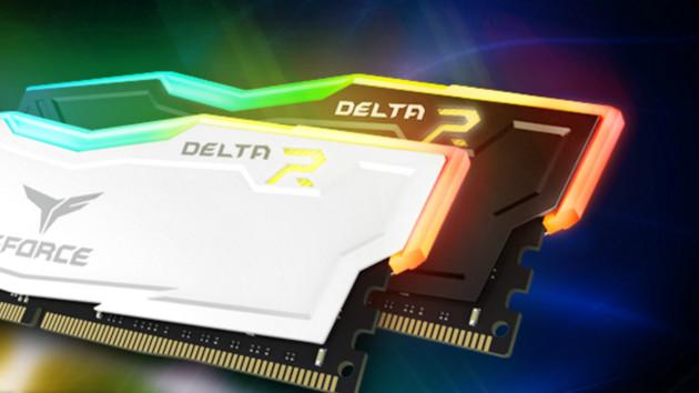 Team Group T-Force Delta RGB: Beleuchteter DDR4-RAM bis 3000 MHz auch mit RGB-LEDs